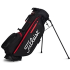 Titleist Players 4 Plus Stand Bag - Black/Black/Red