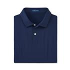 Peter Millar Men's Solid Performance Jersey Polo - Navy