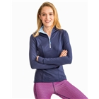 Southern Tide Women's Skipjack Athletic 1/4 Zip - New Navy