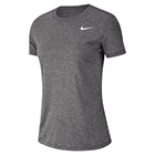 Nike Women's Dri-Fit Legends T-Shirt - Black/Heather