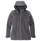 Eddie Bauer Women's WeatherEdge 3-in-1 Jacket - Grey Steel