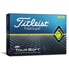 Titleist Tour Soft Golf Balls-Yellow - Yellow