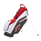 Callaway Golf Fairway C Double Strap Logo Stand Bag - Charcoal/White/Cardinal