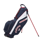 Callaway Golf Fairway C Double Strap Logo Stand Bag - Navy/White/Red