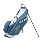 Callaway Golf Fairway C Double Strap Logo Stand Bag - Shale/White/Black