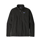 New Patagonia Men's Better Sweater 1/4-Zip - Black