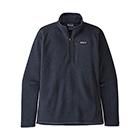 New Patagonia Men's Better Sweater 1/4-Zip - New Navy