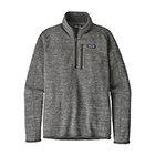 New Patagonia Men's Better Sweater 1/4-Zip - Nickel