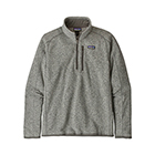 New Patagonia Men's Better Sweater 1/4-Zip - Stonewash