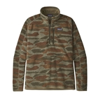 New Patagonia Men's Better Sweater 1/4-Zip - Bear Witness Camo: Sage Khaki