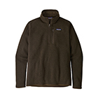 New Patagonia Men's Better Sweater 1/4-Zip - Logwood Brown
