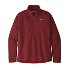 New Patagonia Men's Better Sweater 1/4-Zip - Molten Lava