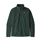 New Patagonia Men's Better Sweater 1/4-Zip - Piki Green