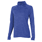 Women's Charles River Space Dyed Pullover - Royal