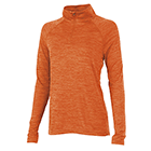 Women's Charles River Space Dyed Pullover - Orange