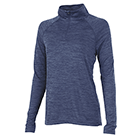 Women's Charles River Space Dyed Pullover - Navy