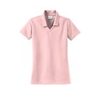 Nike Women's Dri-Fit Micro Pique Polo - Arctic Pink