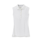Peter Millar Women's Perfect Fit Sleeveless Performance Polo - White