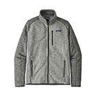 Men's Patagonia Better Sweater Jacket - Nickel w/Forge Grey