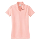 Nike Women's Dri-Fit Micro Pique Polo - Aluminum Pink