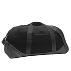 Eddie Bauer Large Ripstop Duffel - Black/ Grey Steel