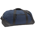 Eddie Bauer Large Ripstop Duffel - Coast Blue/ Grey Steel