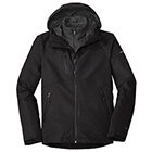 Eddie Bauer Men's WeatherEdge Plus 3-in-1 Jacket - Black/ Black