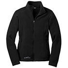 Eddie Bauer Women's Full-Zip Fleece Jacket - Black