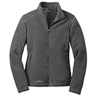 Eddie Bauer Women's Full-Zip Fleece Jacket - Grey Steel