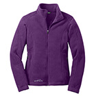 Eddie Bauer Women's Full-Zip Fleece Jacket - Blackberry