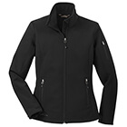 Eddie Bauer Women's Rugged Ripstop Soft Shell Jacket - Black/ Black