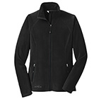 Eddie Bauer Women's Full-Zip Microfleece Jacket - Black