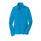 Eddie Bauer Women's Full-Zip Microfleece Jacket - Peak Blue