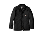 Carhartt Men's Tall Duck Traditional Coat - Black