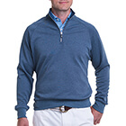 Fairway & Greene Men's Valley 1/4 Zip Pullover - Marine